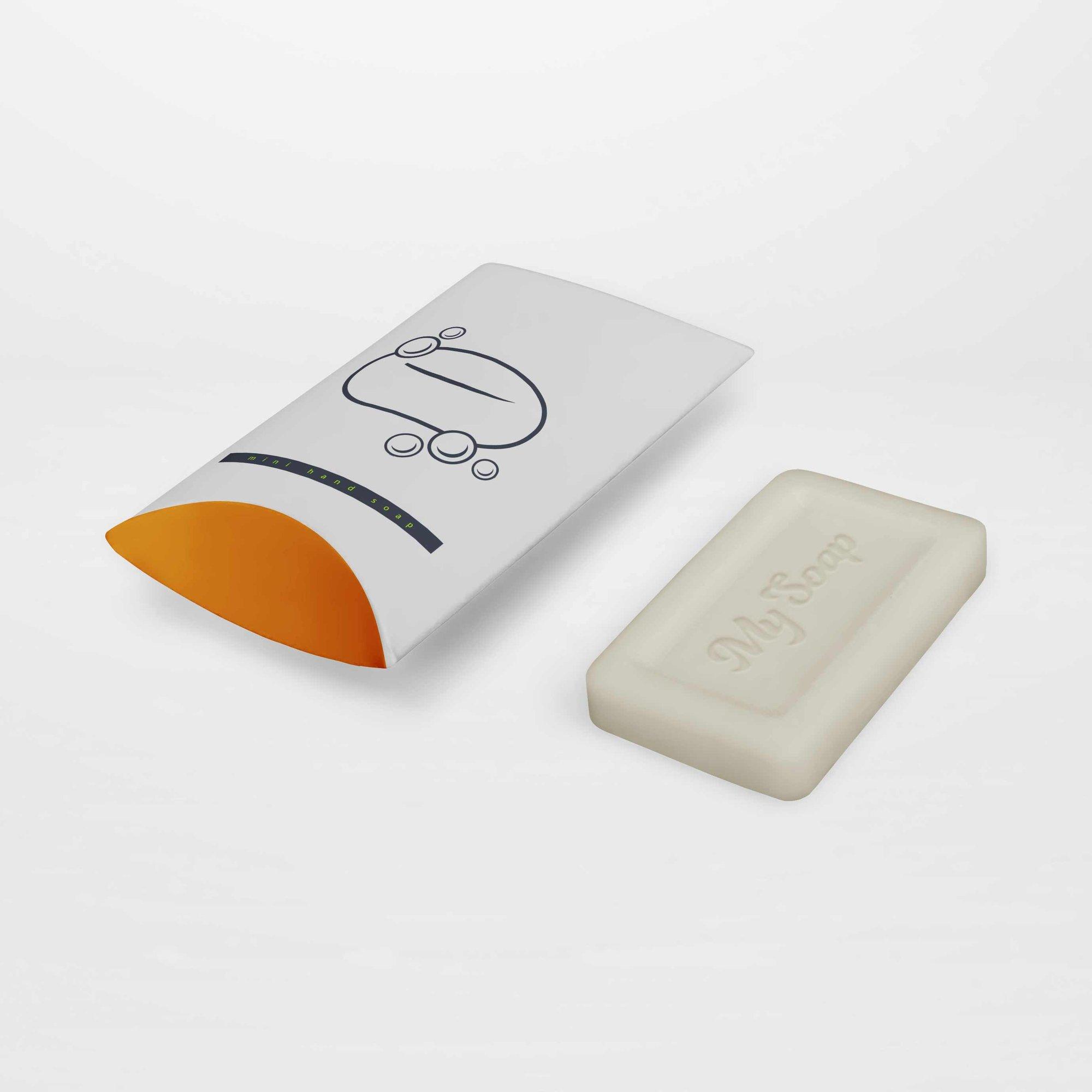 pillow box soap